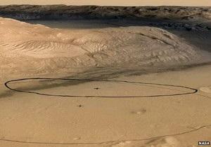 НАСА уточнила место посадки марсохода Кьюриосити