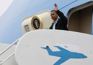 Обама отправился в Луизиану для оценки последствий утечки нефти