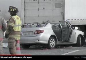 В США в штате Теннесси столкнулись 176 автомобилей