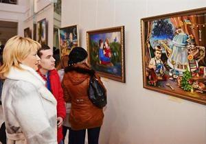 Новости Харькова - Янукович  - Янукович эльф - В Харькове продается портрет Януковича в образе эльфа