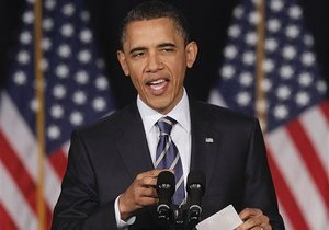 Обама призвал к 2015 году сократить бюджетный дефицит США с 11% до 2,5% ВВП