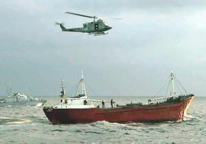 В Охотском море пропал теплоход с 11 членами экипажа