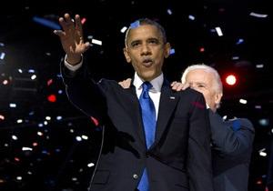 Фотогалерея: Триумф Обамы. Демократы празднуют тройную победу на выборах