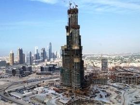 Открытие самого высокого небоскреба в мире отложено из-за кризиса