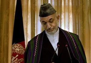 Карзай предложил талибам жить по конституции