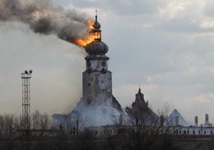 Милиция назвала две основные версии пожара в Сокальской колонии