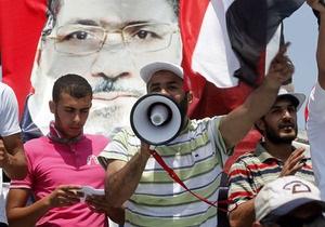 Приверженцы Мурси призвали египтян протестовать каждый день - ситуация в египте - каир - мохаммед мурси