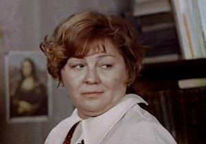 В Москве умерла актриса Лидия Савченко