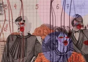 В Киеве открылась выставка коллажей на тему советской моды