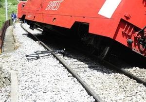В Сирии поезд сошел с рельс из-за атаки мотоциклистов
