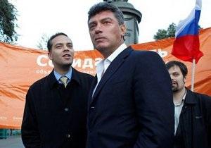 Соратники простили Немцову матерные оскорбления по телефону