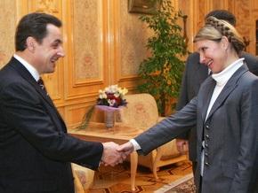 Сегодня Тимошенко посетит Францию