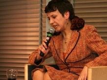 Оксана Забужко провела вечер украинской литературы в Брюсселе