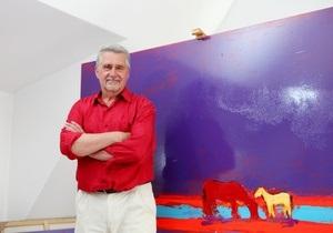 В Киеве открылась выставка работ самого дорогого украинского художника