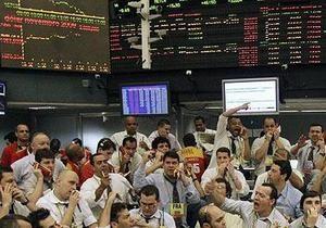 Украинские акции падают вслед за европейскими