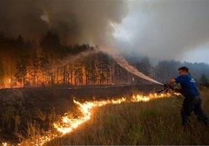 На тушение пожаров в Московской области потребуется еще от пяти до семи дней