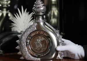 Самая дорогая в мире бутылка текилы выставлена на продажу в Мексике