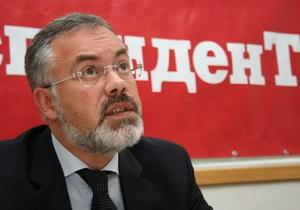 Табачник заявил, что не имел в виду Собчак, когда сравнивал Могилянку со светской львицей