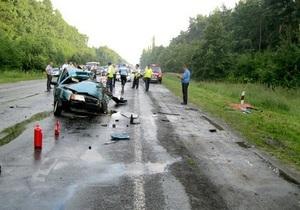 В Волынской области в ДТП погибла женщина с двумя дочерьми