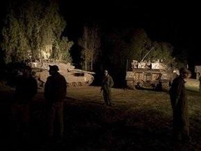 К границе с Газой стягиваются танковые подразделения