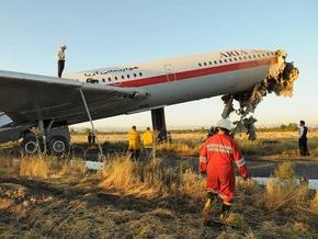 Жертвами возгорания самолета в Иране стали 16 человек