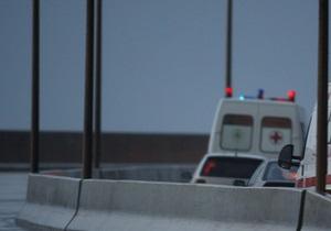 В Киеве столкнулись четыре иномарки. Один из водителей тяжело травмирован