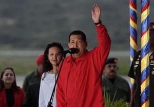 Чавес отправился за рубеж - впервые после выявления рака