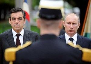 После встречи с премьером Франции Путин уклонился от ответа на вопрос о президентских выборах-2012