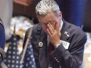 Биржи США открылись падением