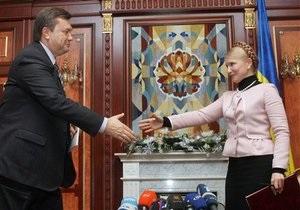 Янукович принял во внимание ходатайство депутатов о Тимошенко