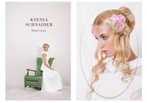 Ksenia Schnaider выпустила лукбук круизной коллекции-2014