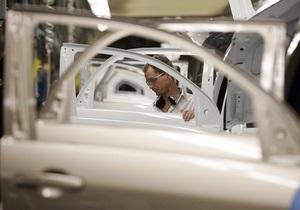 Украина сократила производство автомобилей с начала года в полтора раза
