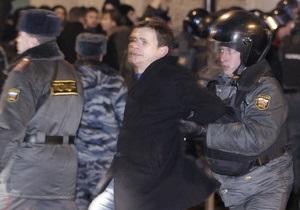 Суд над активистами Солидарности: заявитель митинга оштрафован, Яшин арестован на 15 суток