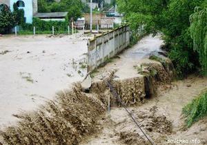В Крыму селевой поток затопил один из курортов