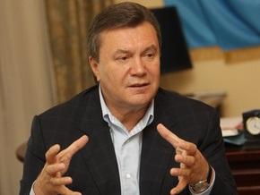 Янукович: Моя главная мечта – объединить Украину