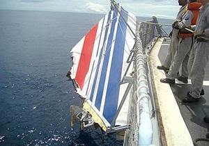 Доклад: Катастрофа над Атлантикой произошла по вине пилотов