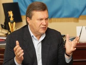 Янукович раскритиковал Тимошенко за украинский язык в школах