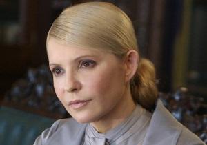 Тимошенко: Симптомы неизвестной болезни прогрессируют