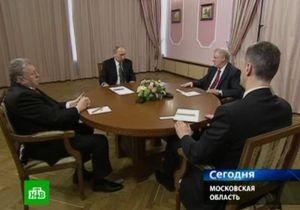 Путин встретился с бывшими соперниками на выборах: Зюганов не пришел