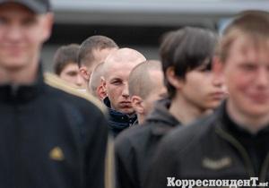 Внутренние войска России провалили план по осеннему призыву