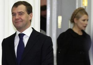 Медведев не планирует обсуждать в Донецке дело Тимошенко