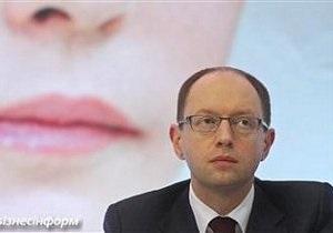 Начальник колонии не пустил Яценюка к Тимошенко