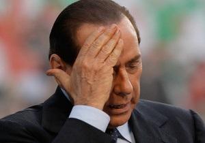 Берлускони обвинили в подкупе сенатора перед выборами