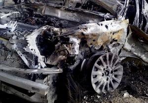 Новое ДТП в Великобритании: столкнулись 11 автомобилей