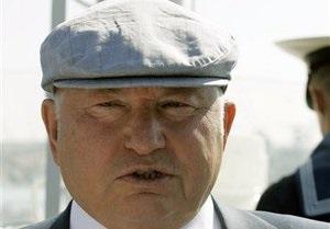 Севастопольский горсовет просит Януковича снять с Лужкова статус персоны нон-грата