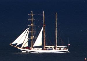 В Ялте задержали яхту стоимостью 1,3 млн грн
