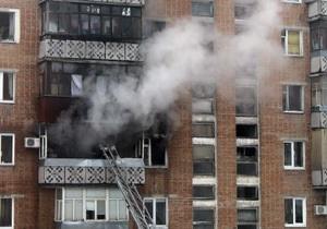 В Полтаве произошел пожар в жилом доме