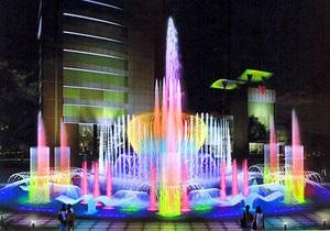 На Оболони установят световой фонтан