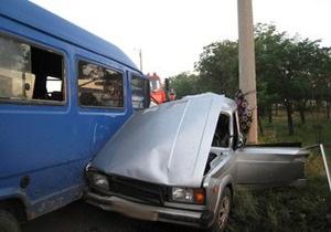 В ДТП в Луганской области погибли четверо человек: у 16-летнего водителя не было прав