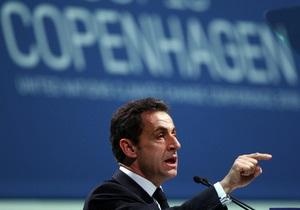 Саркози: Провал на конференции в Копенгагене станет катастрофой для каждого из нас
